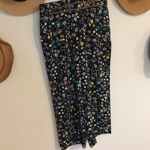 Loft wide leg pants
